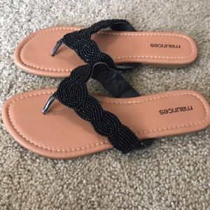 Maurices Shoes - Maurice's dressy flip flops